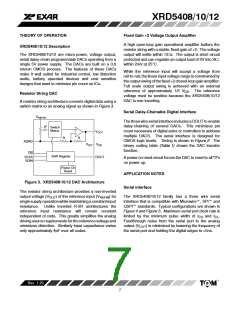 浏览型号XRD5408AIP的Datasheet PDF文件第7页