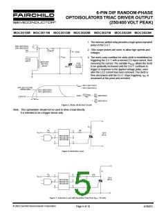 浏览型号MOC3011SR2VM的Datasheet PDF文件第5页