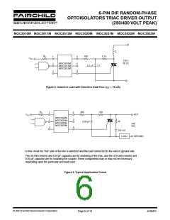 浏览型号MOC3011SR2VM的Datasheet PDF文件第6页