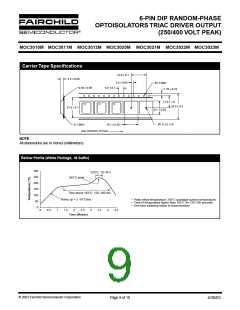 浏览型号MOC3011SR2VM的Datasheet PDF文件第9页