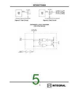 浏览型号IN74HCT240ADW的Datasheet PDF文件第5页