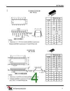 浏览型号IN74LS04D的Datasheet PDF文件第4页