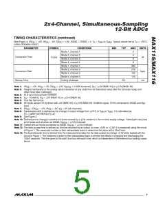 浏览型号MAX116EAX的Datasheet PDF文件第5页