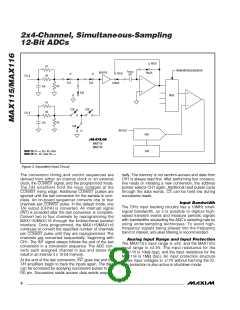 浏览型号MAX116EAX的Datasheet PDF文件第8页