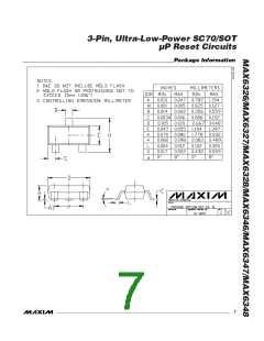 浏览型号MAX6348XR40-T的Datasheet PDF文件第7页