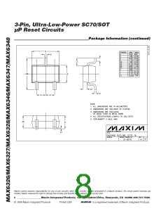 浏览型号MAX6348XR40-T的Datasheet PDF文件第8页