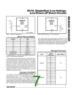 浏览型号MAX6385XS44D3-T的Datasheet PDF文件第7页