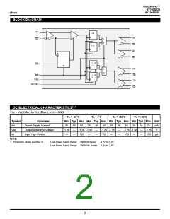 浏览型号SY100S838ZCTR的Datasheet PDF文件第2页