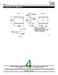 浏览型号SY100S838ZCTR的Datasheet PDF文件第4页