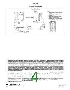 浏览型号MC12066D的Datasheet PDF文件第4页