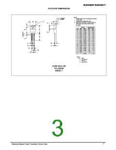 浏览型号MJE2361T的Datasheet PDF文件第3页