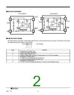 浏览型号R1141Q401D-TR的Datasheet PDF文件第2页