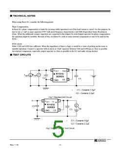 浏览型号R1141Q401D-TR的Datasheet PDF文件第5页