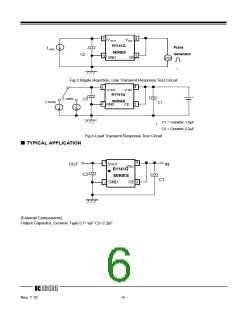 浏览型号R1141Q401D-TR的Datasheet PDF文件第6页