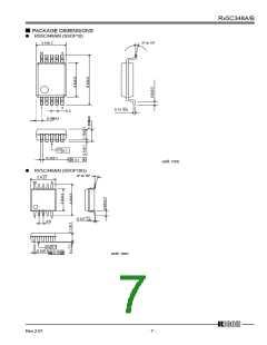 浏览型号RX5C348A的Datasheet PDF文件第7页
