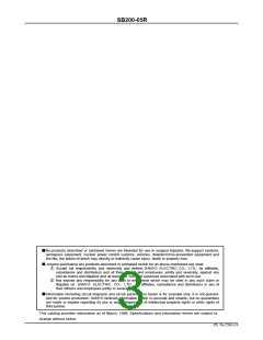 浏览型号SB200-05R的Datasheet PDF文件第3页