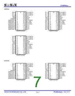 浏览型号SN8P0406P的Datasheet PDF文件第7页