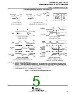浏览型号SN74AHCT32PWE4的Datasheet PDF文件第5页