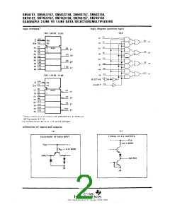 浏览型号SN74LS157NSRE4的Datasheet PDF文件第2页