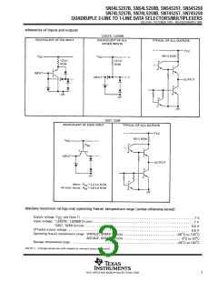 浏览型号SN74LS258BNSRE4的Datasheet PDF文件第3页
