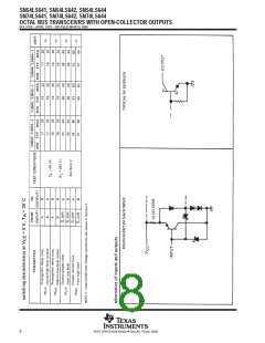 浏览型号SN74LS644DW的Datasheet PDF文件第8页