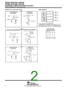 浏览型号SN74S86NE4的Datasheet PDF文件第2页