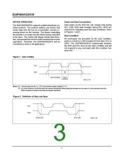 浏览型号X24F064S-5的Datasheet PDF文件第3页
