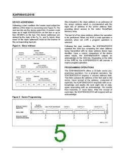 浏览型号X24F064S-5的Datasheet PDF文件第5页
