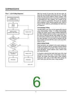 浏览型号X24F064S-5的Datasheet PDF文件第6页