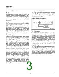 浏览型号X28HC64DI-70的Datasheet PDF文件第3页