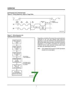 浏览型号X28HC64DI-70的Datasheet PDF文件第7页
