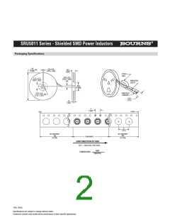 浏览型号SRU5011-3R3Y的Datasheet PDF文件第2页