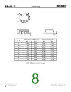 浏览型号RT9261B-36CX的Datasheet PDF文件第8页