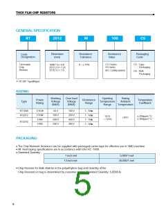 浏览型号RC1608J100CS的Datasheet PDF文件第5页