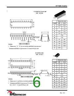 浏览型号IN74HCT245AN的Datasheet PDF文件第6页