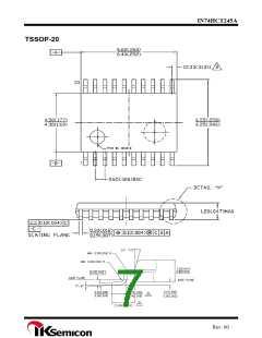 浏览型号IN74HCT245AN的Datasheet PDF文件第7页