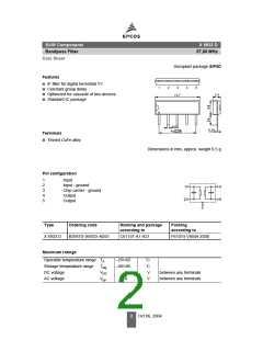 浏览型号X6933D的Datasheet PDF文件第2页