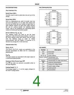 浏览型号X9428WS16IZ的Datasheet PDF文件第4页