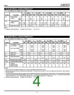 浏览型号SY10EL16VAZI的Datasheet PDF文件第4页
