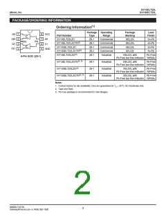 浏览型号SY10ELT22LZGTR的Datasheet PDF文件第2页