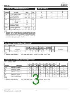 浏览型号SY10ELT22LZGTR的Datasheet PDF文件第3页