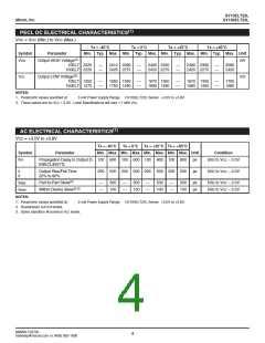 浏览型号SY10ELT22LZGTR的Datasheet PDF文件第4页