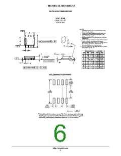 浏览型号MC100EL12DR2G的Datasheet PDF文件第6页