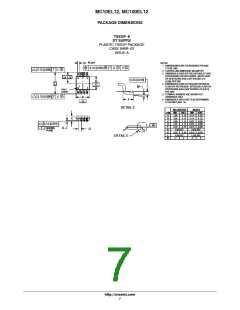 浏览型号MC100EL12DR2G的Datasheet PDF文件第7页