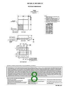 浏览型号MC100EL12DR2G的Datasheet PDF文件第8页