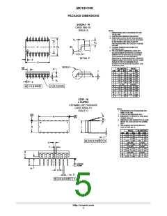 浏览型号MC10H109MELG的Datasheet PDF文件第5页