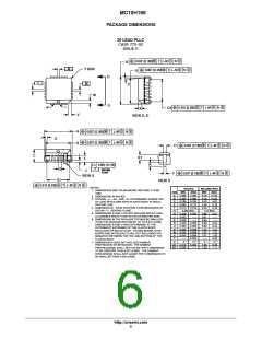 浏览型号MC10H166FNR2G的Datasheet PDF文件第6页