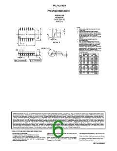浏览型号MC74LVX08M的Datasheet PDF文件第6页