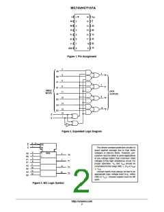 浏览型号MC74VHCT157AMG的Datasheet PDF文件第2页