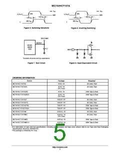 浏览型号MC74VHCT157AMG的Datasheet PDF文件第5页